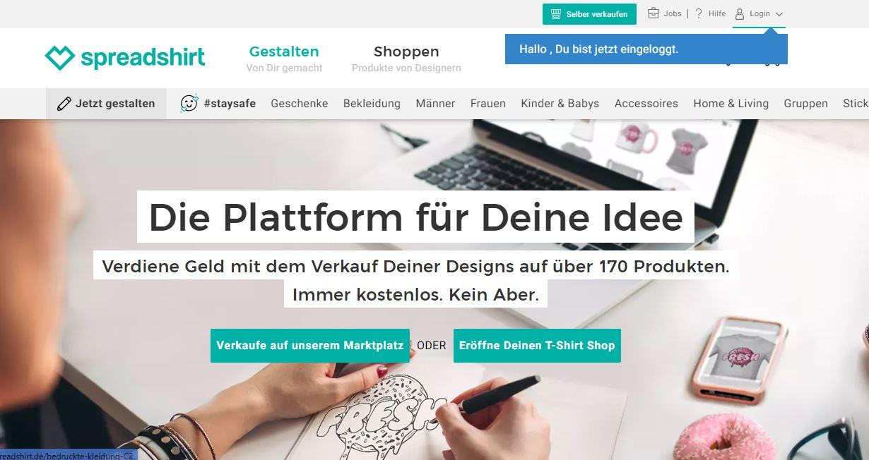 Login Problems Marketplace Forum Spreadshirt